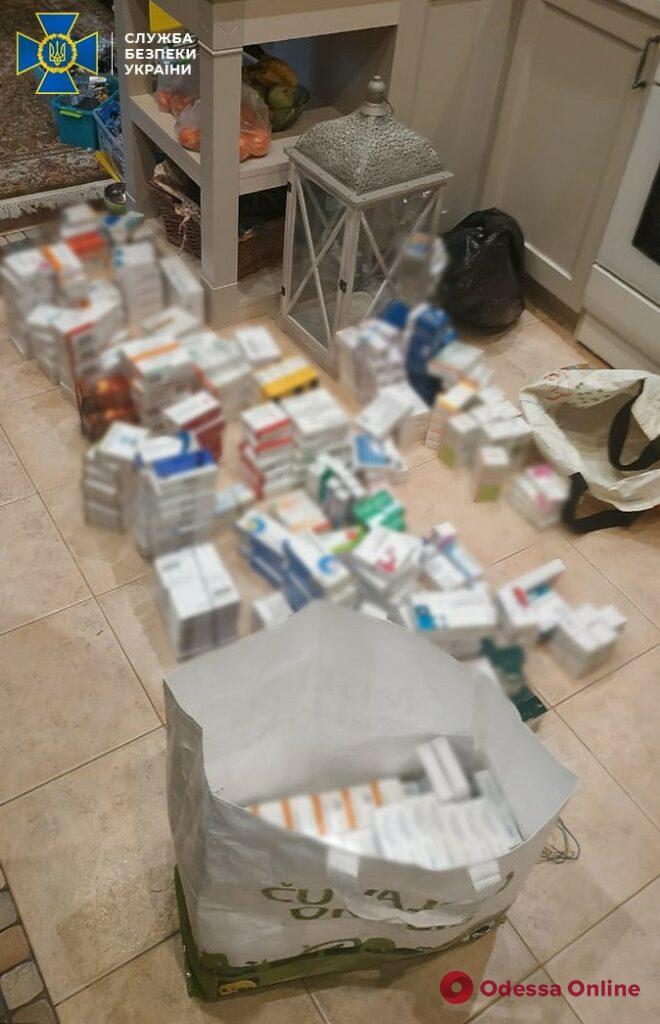 В Одессе блокировали контрабанду запрещенных лекарств на миллион