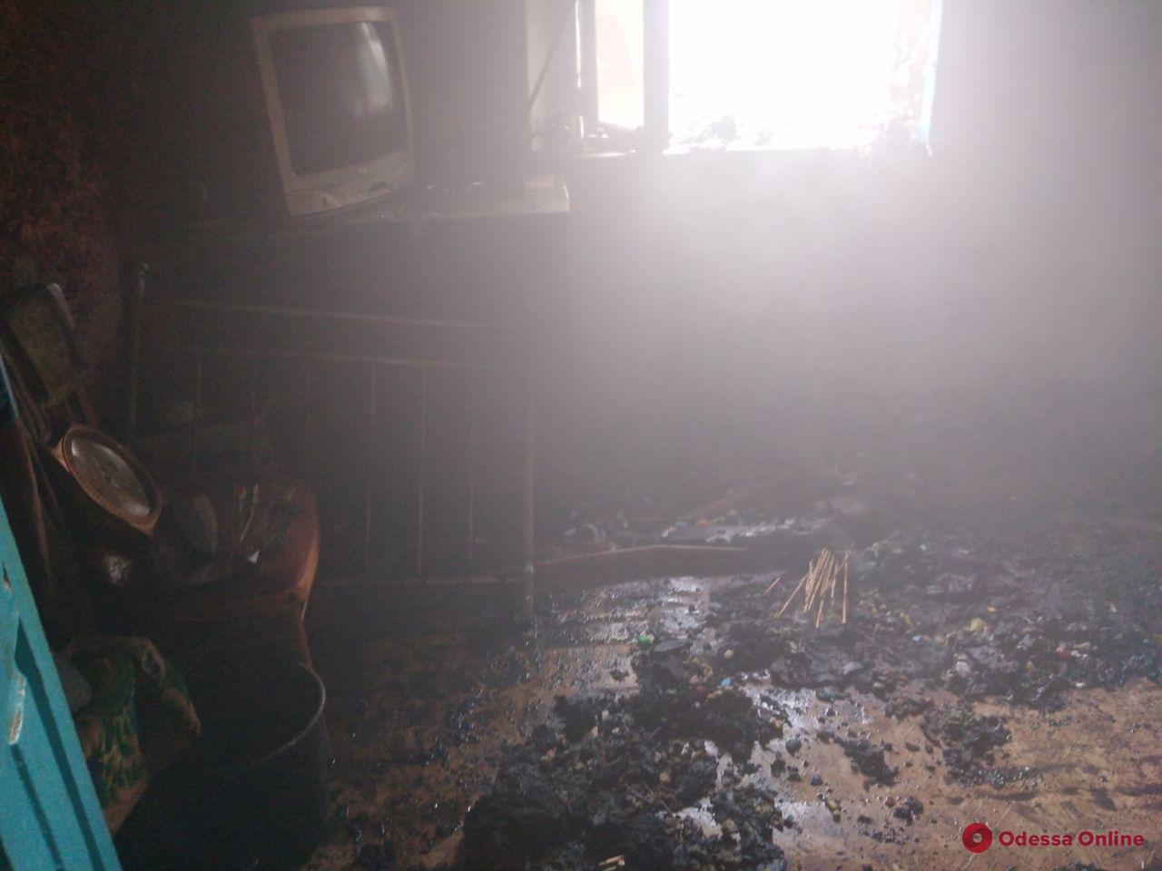 В Одесской области при пожаре погиб пожилой мужчина