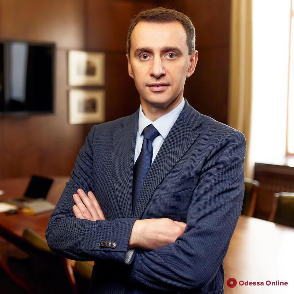 Главный санврач Украины Виктор Ляшко заболел коронавирусом