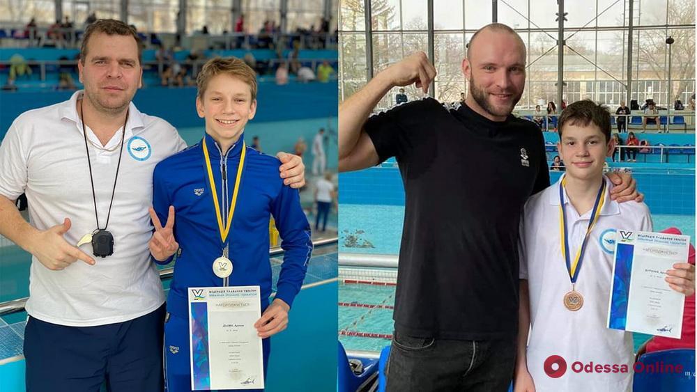 Одесские пловцы завоевали медали чемпионата Украины на короткой воде
