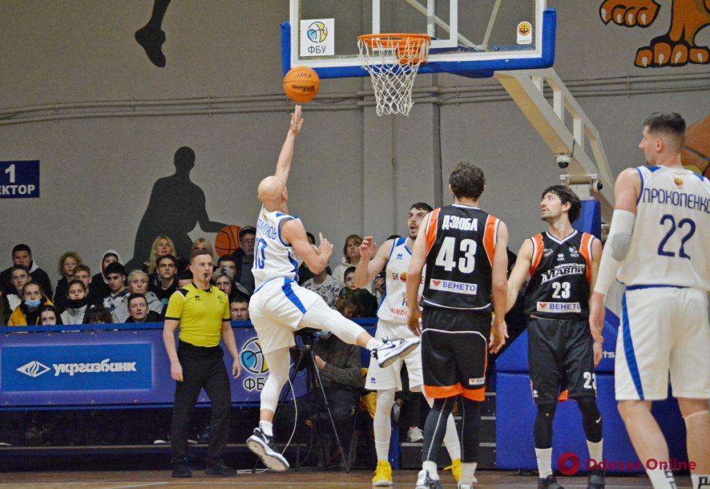 Баскетбол: «Одесса» неудачно дебютировала на «Динамо», «Химик» победил в Южном