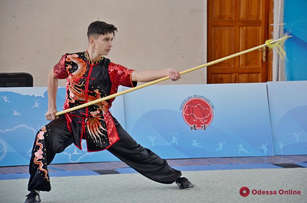 Ушу: в Одессе состоялся Открытый чемпионат области