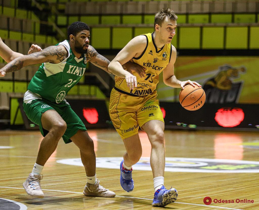 Баскетбол: «Химик» проиграл в Киеве, «Одесса» – в Тернополе