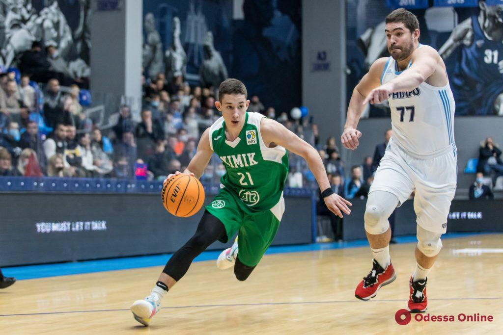 БаскетБоль: «Химик» проиграл чемпиону, «Одесса» – аутсайдеру