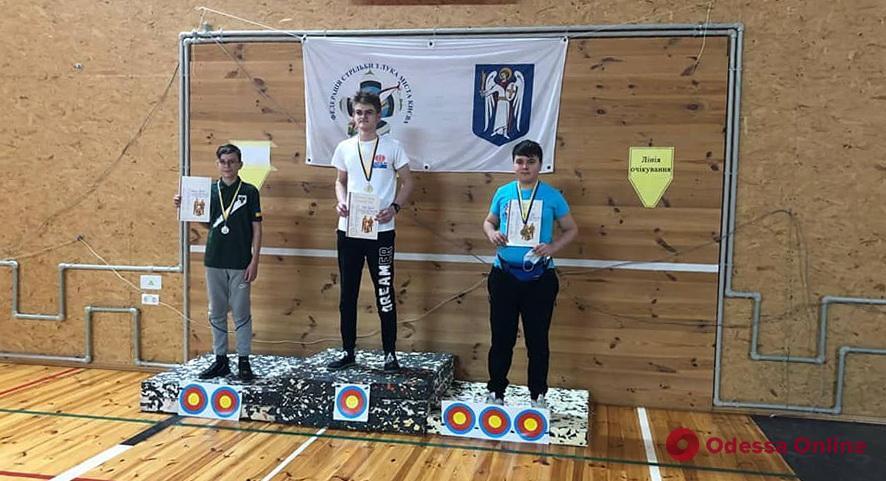 Стрельба из лука: одесситы стали призерами всеукраинского турнира
