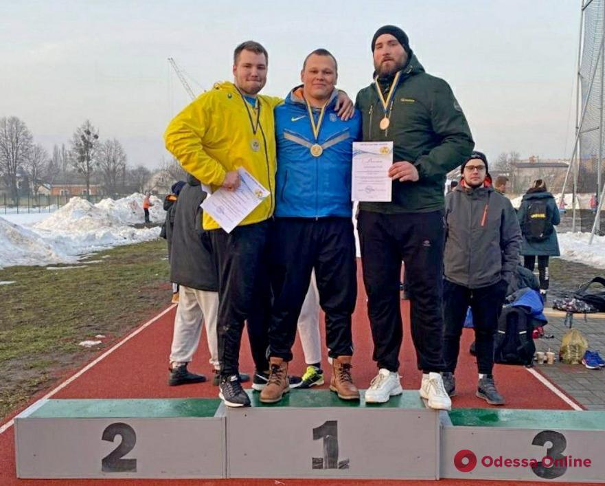 Дискобол из Черноморска завоевал медаль чемпионата Украины