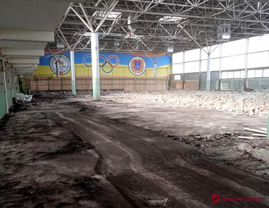 Лед тронулся: началась масштабная реконструкция легкоатлетического манежа «Олимпиец»