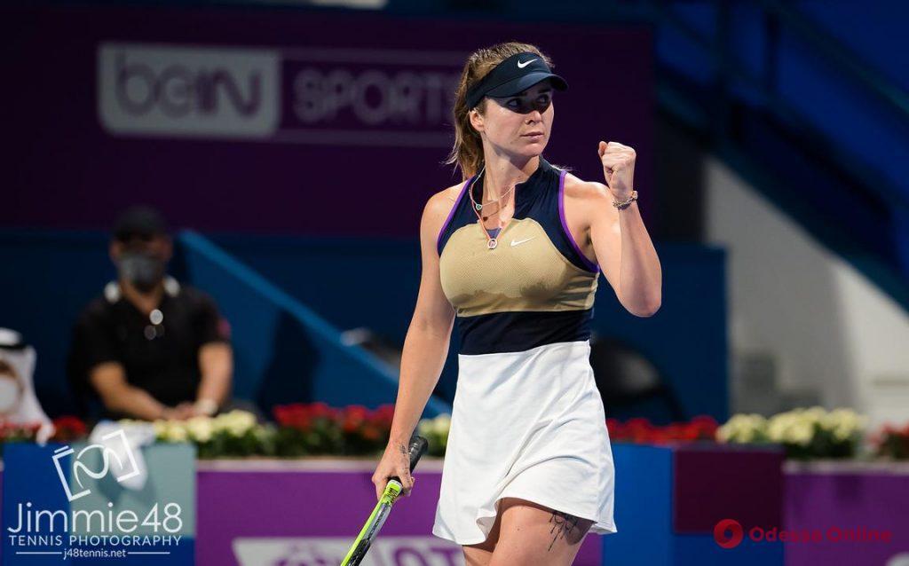 Одесская теннисистка в 2,5-часовом матче обыграла легендарную Квитову