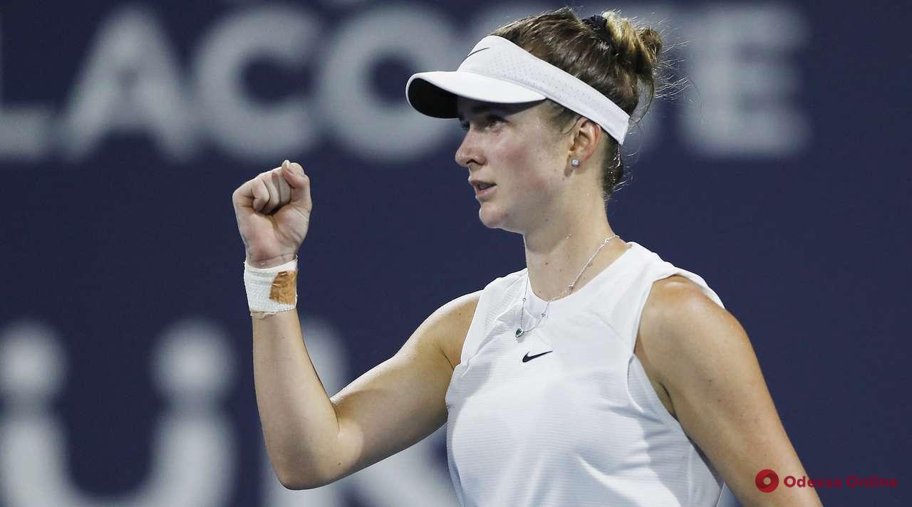 Одесская теннисистка блестяще выходит в полуфинал престижного турнира в США