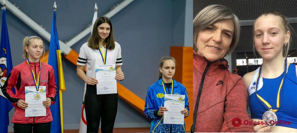 Легкоатлеты из Одесской области завоевали четыре медали чемпионата Украины