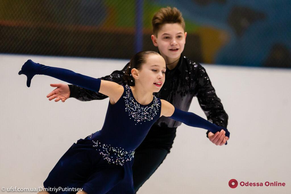 Фигурное катание: одесситы завоевали 23 медали на соревнованиях всеукраинского уровня