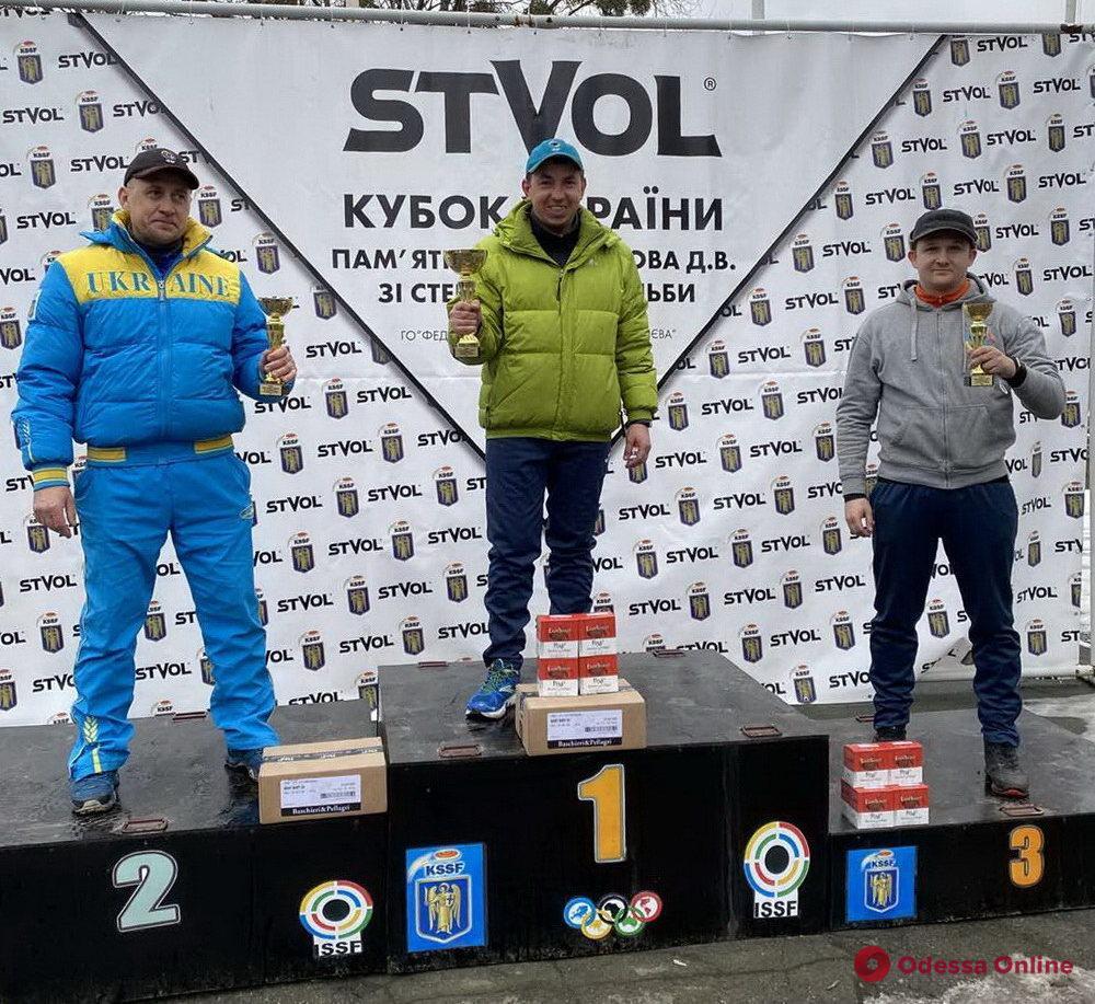Стендовая стрельба: одесситы завоевали пять медалей на этапе Кубка Украины
