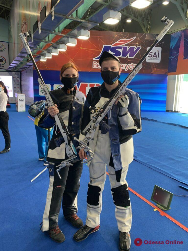 Пулевая стрельба: одесситка стала призером этапа Кубка мира