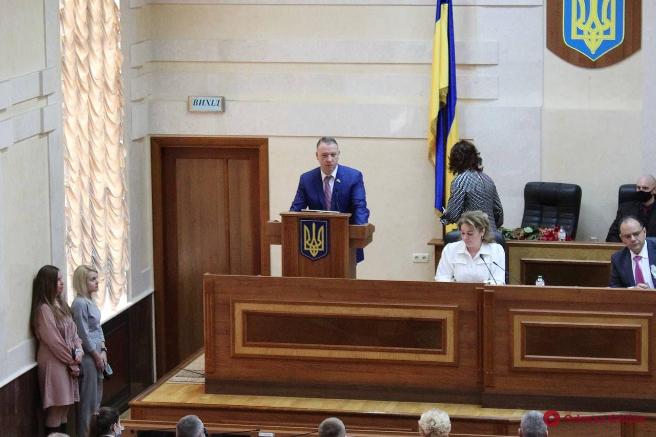 В облгосадминистрации представили нового главу Одесского района