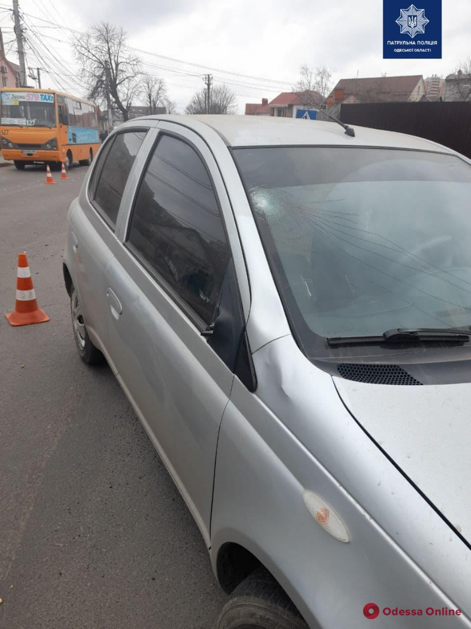 На Дмитрия Донского сбили пешехода