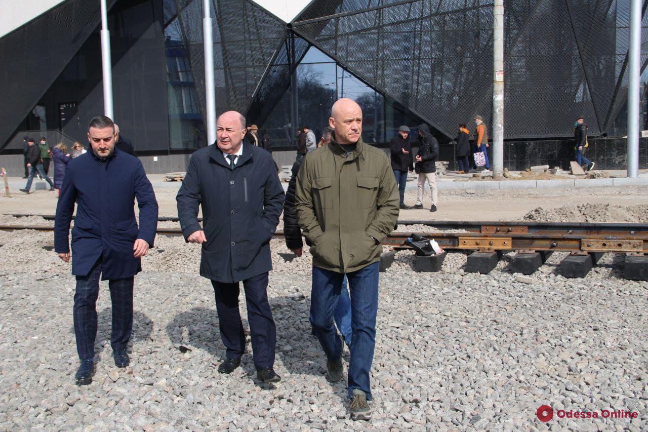 Мэр Одессы: движение по улице Водопроводной будет открыто до 1 апреля
