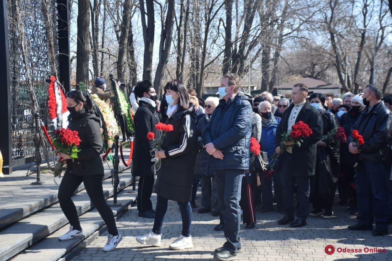 В Одессе простились с почетным гражданином города Олегом Губарем (фото)