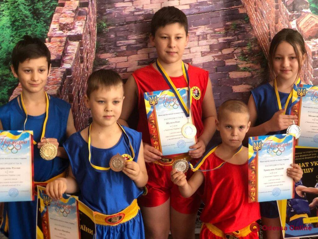 Сборная Одесской области завоевала рекордное количество медалей на чемпионате Украины по контактному ушу