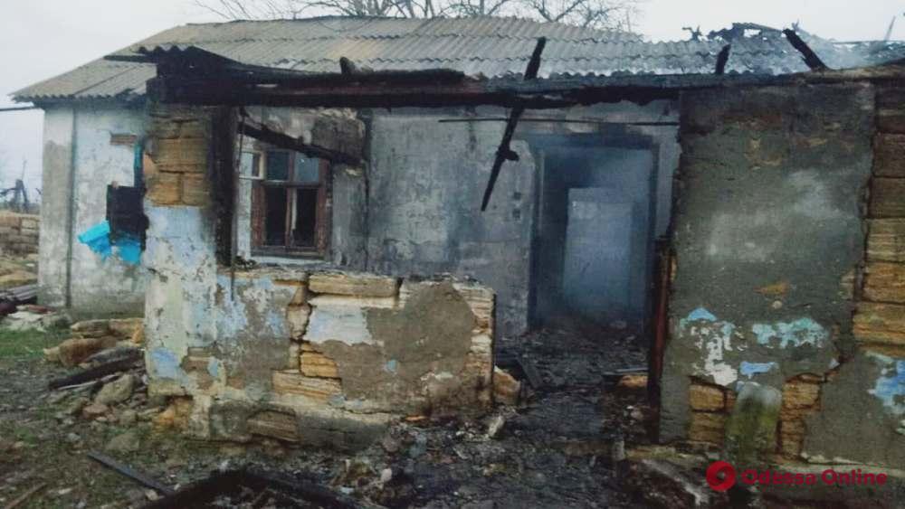 В Одесской области во время пожара погибли два человека