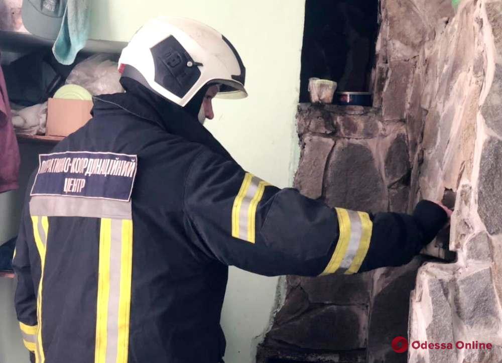 В Одессе в здании районного участка Горзелентреста произошел пожар (фото)