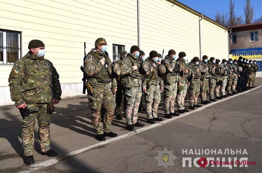 Одесские «штормовцы» отправились на ротацию в зону ООС