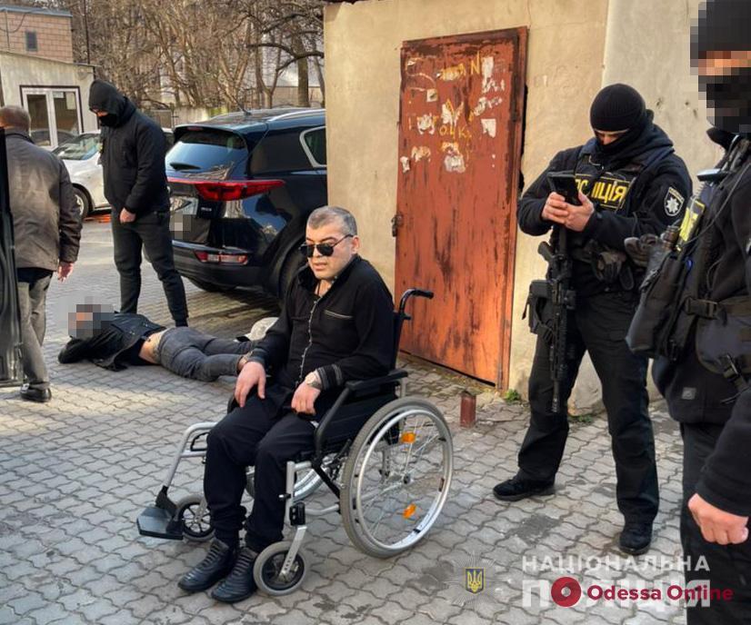 В Одессе задержали вора в законе Мамуку Хонского