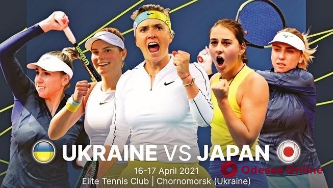 Теннис: Свитолина приносит первую победу сборной Украины над командой Японии в Черноморске