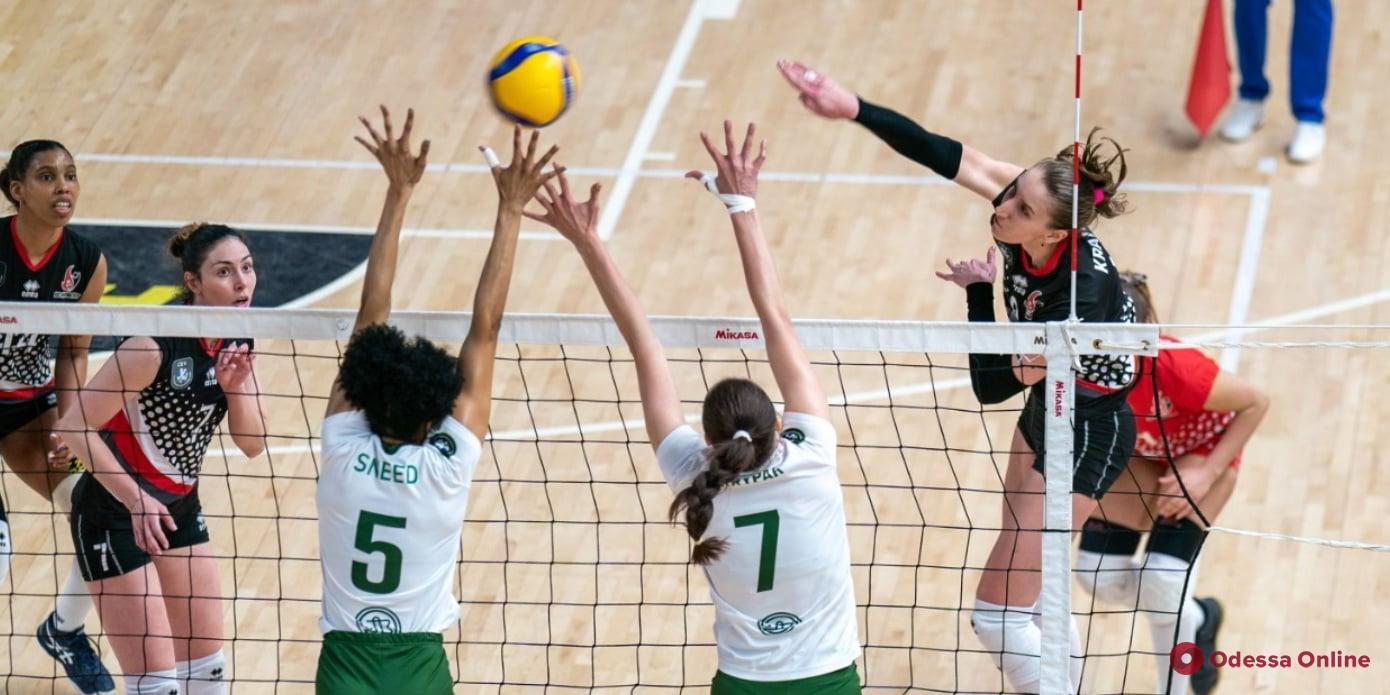 Волейбол: «Химик» начал финальную серию Суперлиги с двух поражений