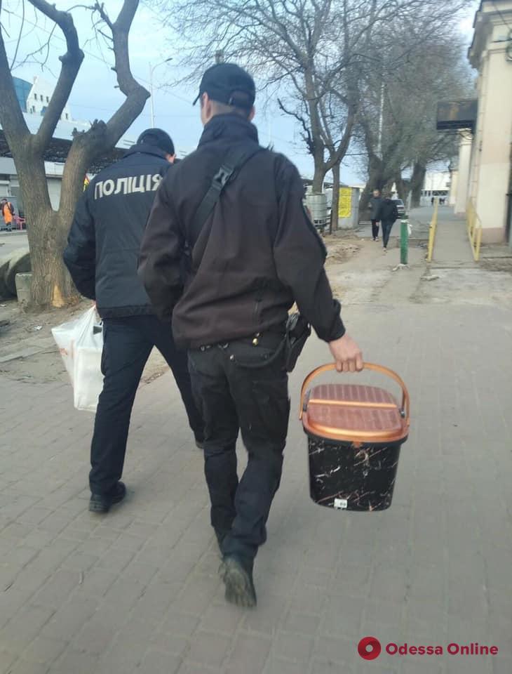 В Одессе у уличных фотографов изъяли семь голубей