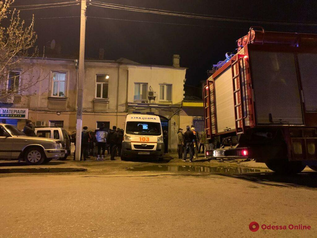 На Серова взорвался газ (фото)
