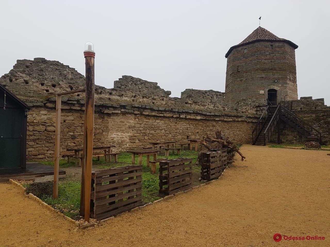 На территории Аккерманской крепости нашли незаконную канализацию