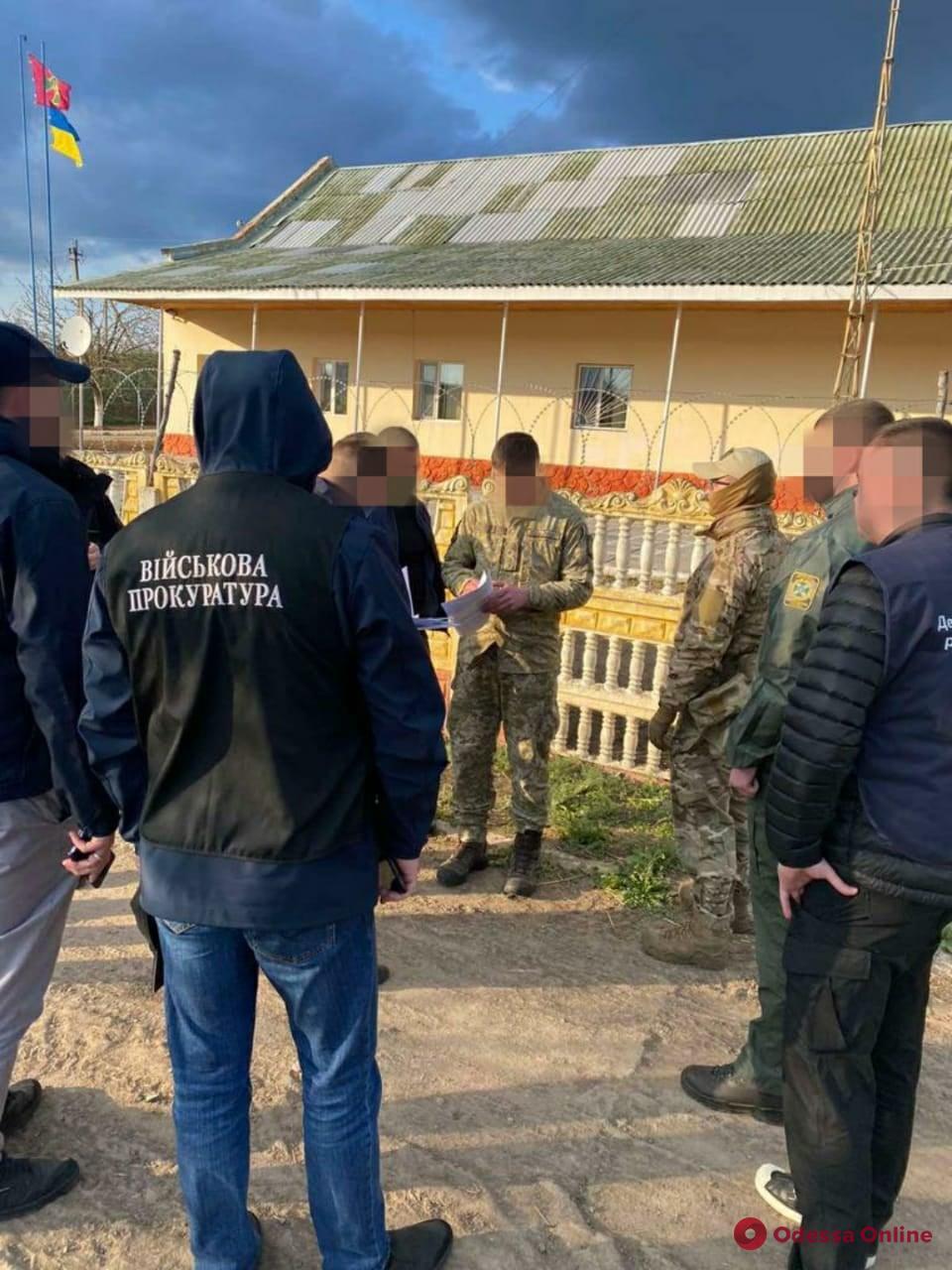 В Одесской области пограничник за взятку обещал помочь вывезти в Молдову контрабандный товар