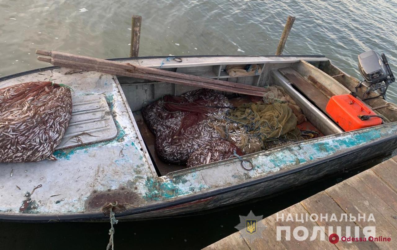 Улов на 150 тысяч гривен: в Одесской области правоохранители задержали браконьера