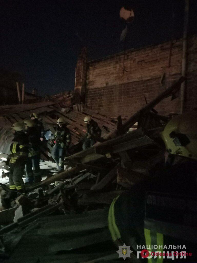 Полиция расследует обстоятельства взрыва на Молдаванке