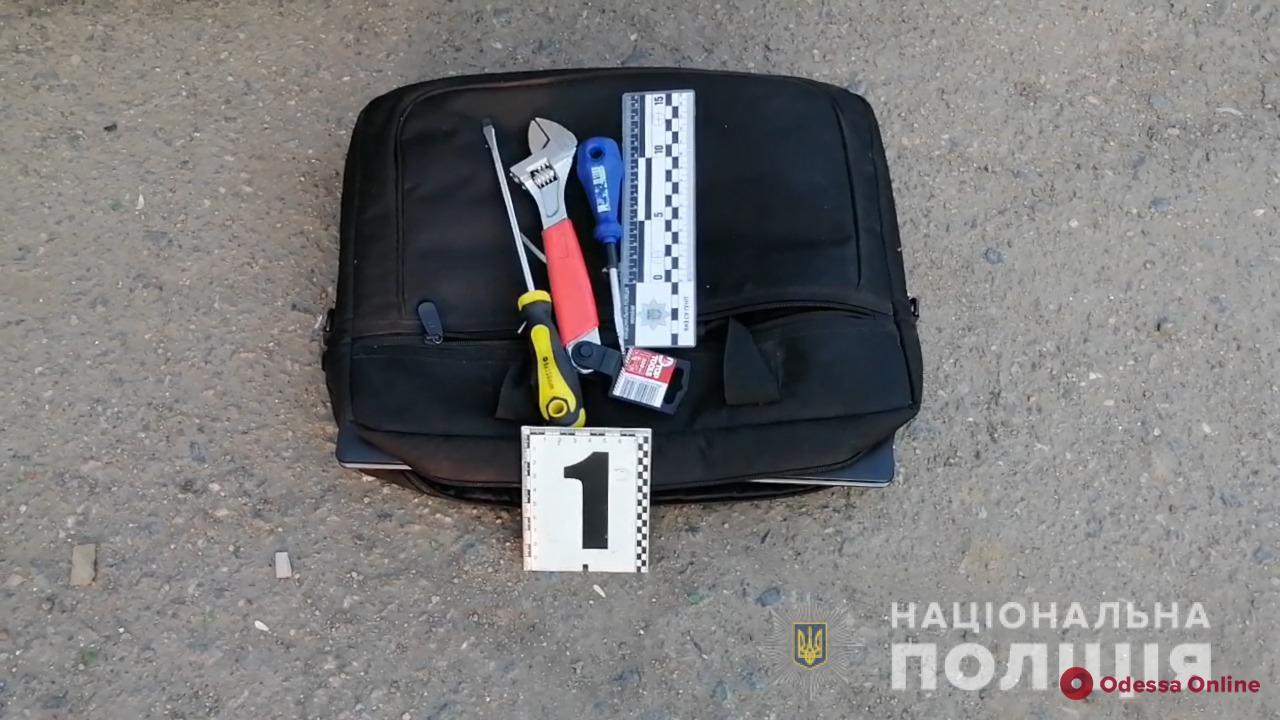 В Черноморске поймали иностранных горе-домушников