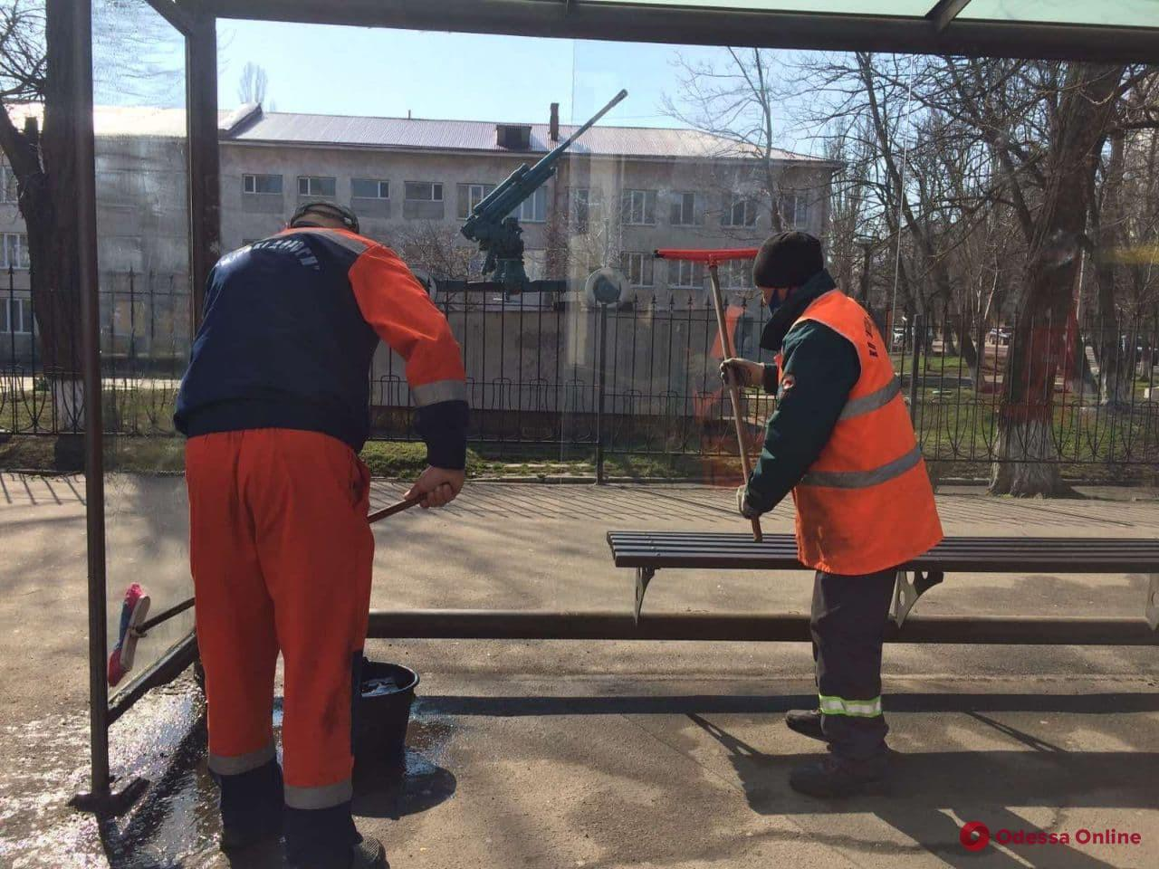 В этом году в Одессе установят полсотни остановочных комплексов