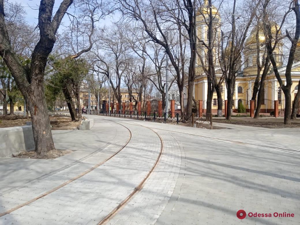 Благоустройство Алексеевского сквера планируют завершить до начала мая