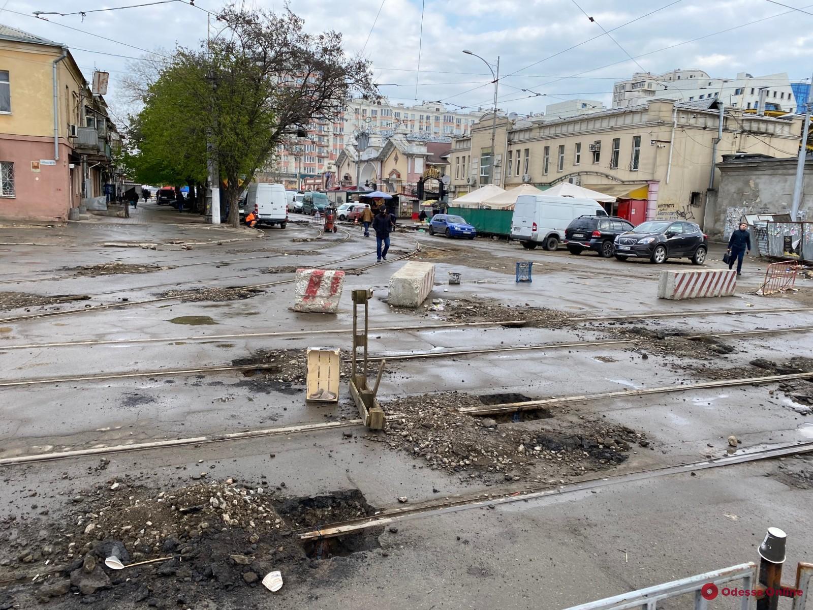 В Одессе начался капремонт Преображенской
