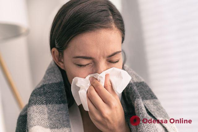 В Одессе заболеваемость ОРВИ и гриппом находится значительно ниже эпидпорога