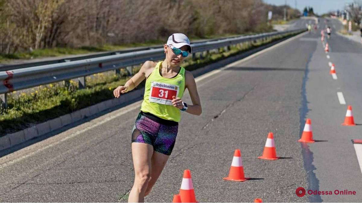 Одесситка завоевала «бронзу» международного марафона в Болгарии
