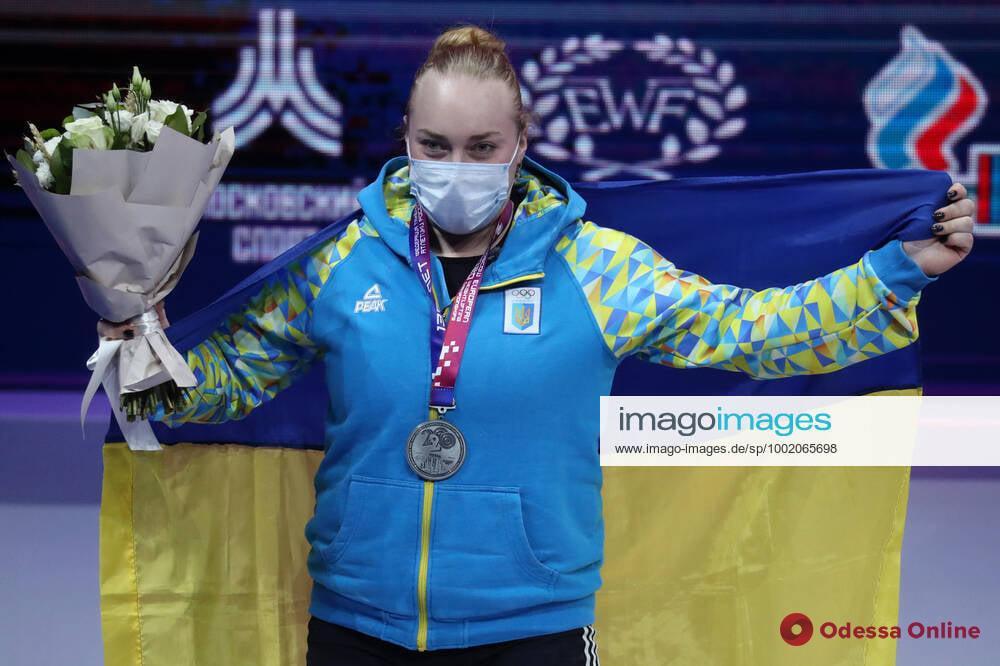 Тяжелоатлетка из Черноморска завоевала три «серебра» чемпионата Европы