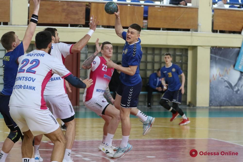 Гандбольная команда «Одесса» вновь сыграет в еврокубках