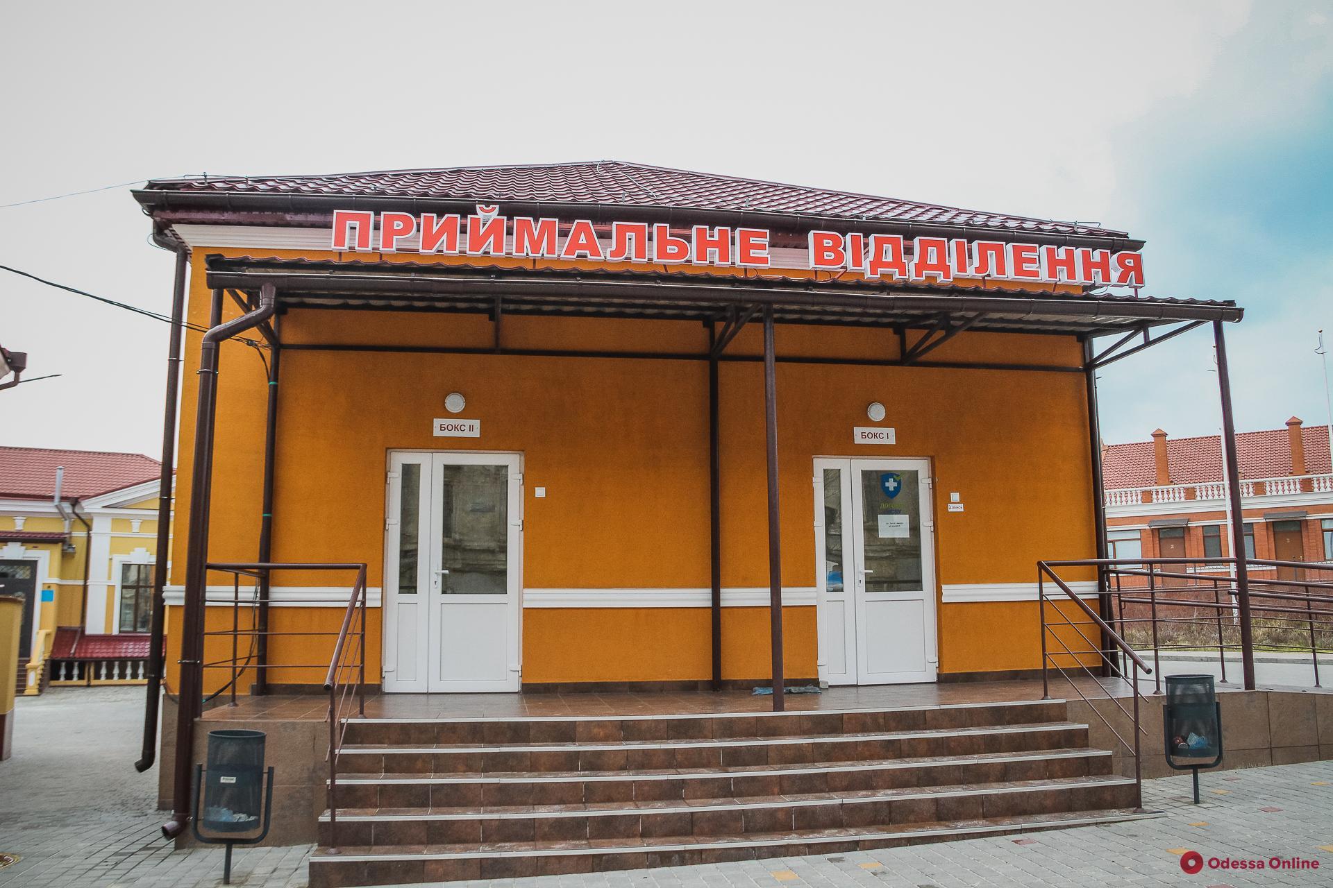 В опорных больницах Одессы находятся 113 пациентов с COVID-19