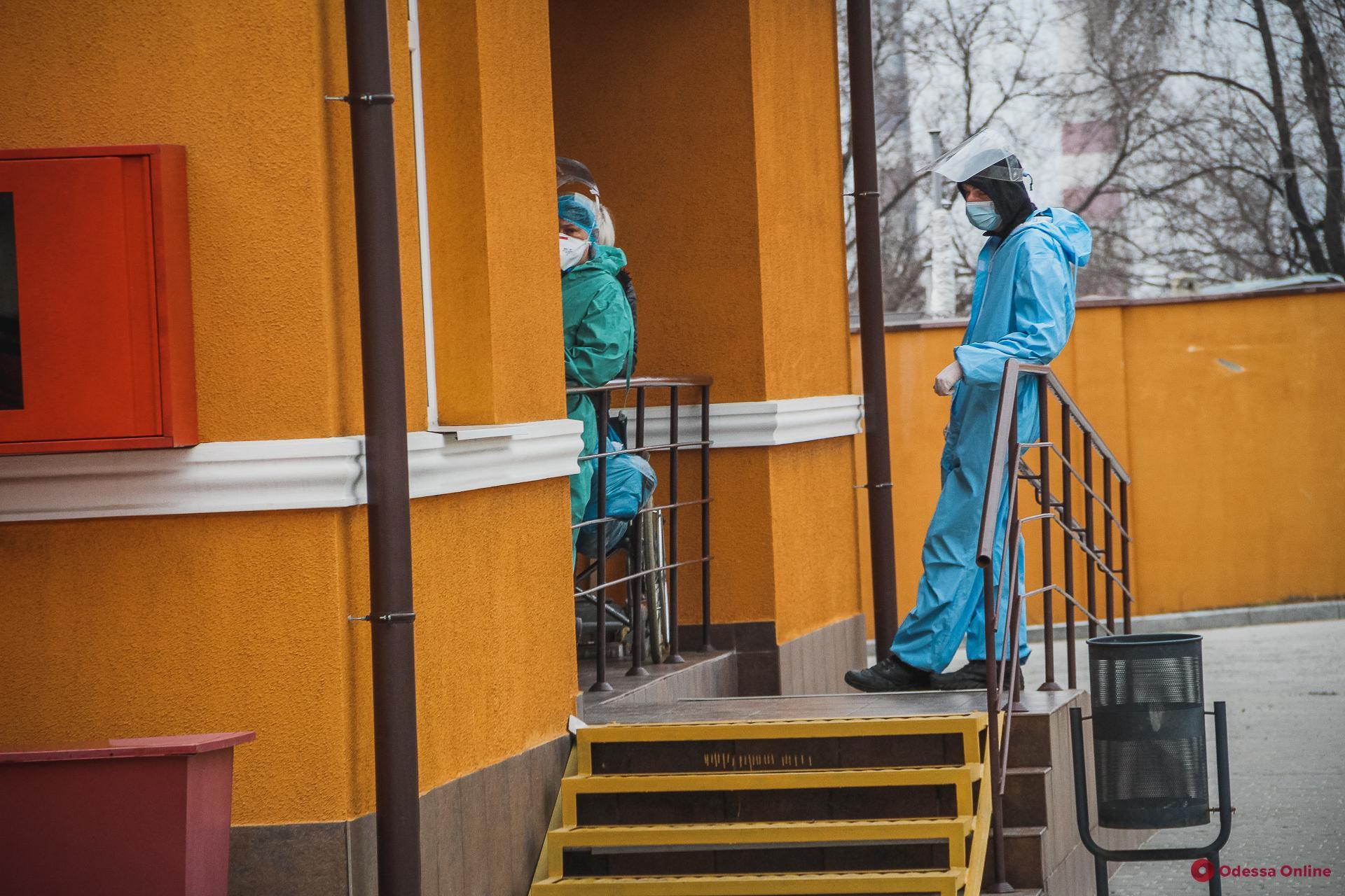 В одесских опорных больницах свободны 35 коек для госпитализации пациентов с коронавирусом