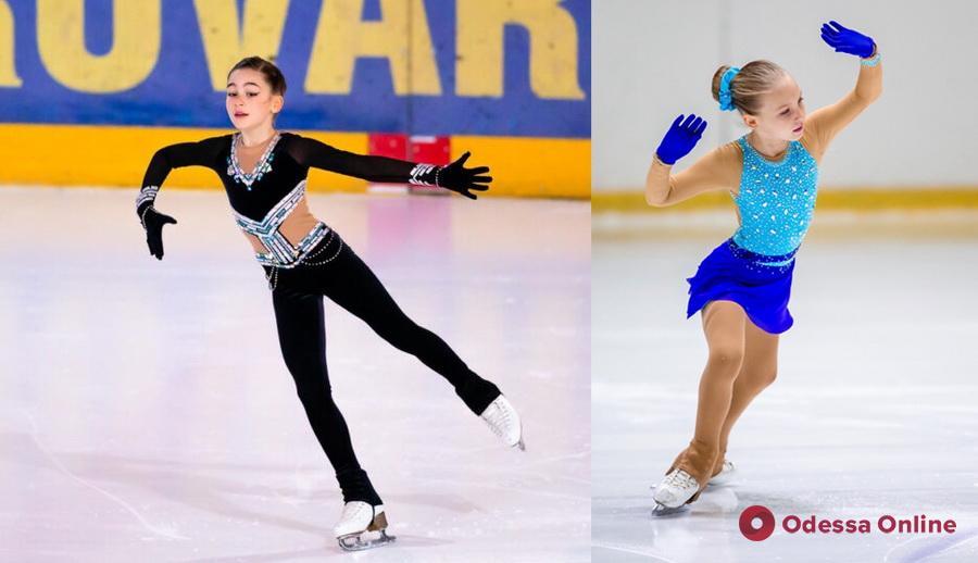 Фигурное катание: одесситы удачно выступили на всеукраинских и международных турнирах