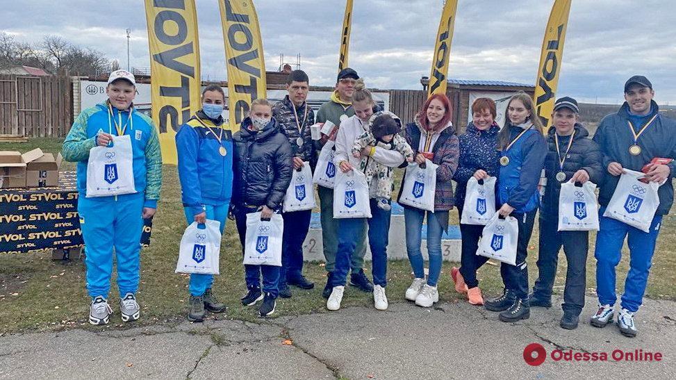 Стендовая стрельба: одесситы завоевали восемь медалей в стартовом туре чемпионата Украины