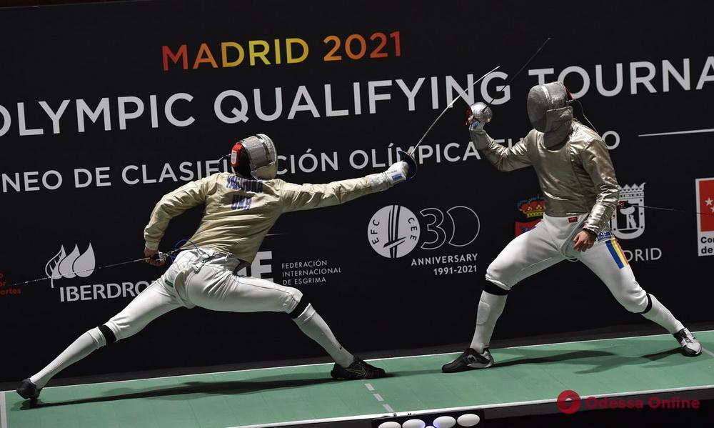 Фехтование: одесский саблист остановился в шаге от попадания на Олимпийские игры