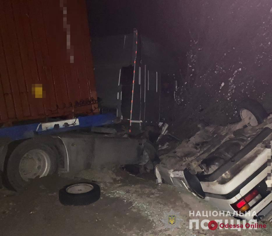 На трассе Одесса—Николаев произошло смертельное ДТП