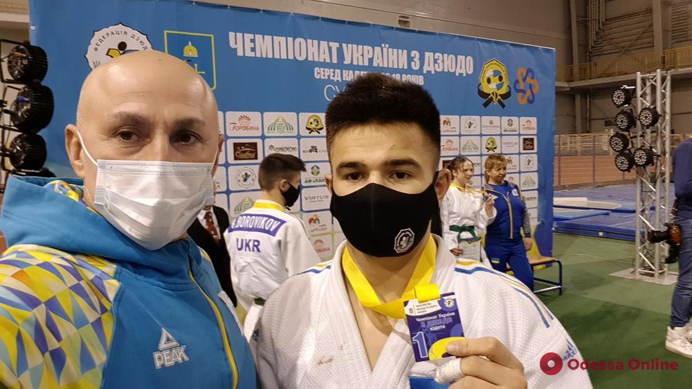 Дзюдо: юные одесситы завоевали три медали чемпионата Украины