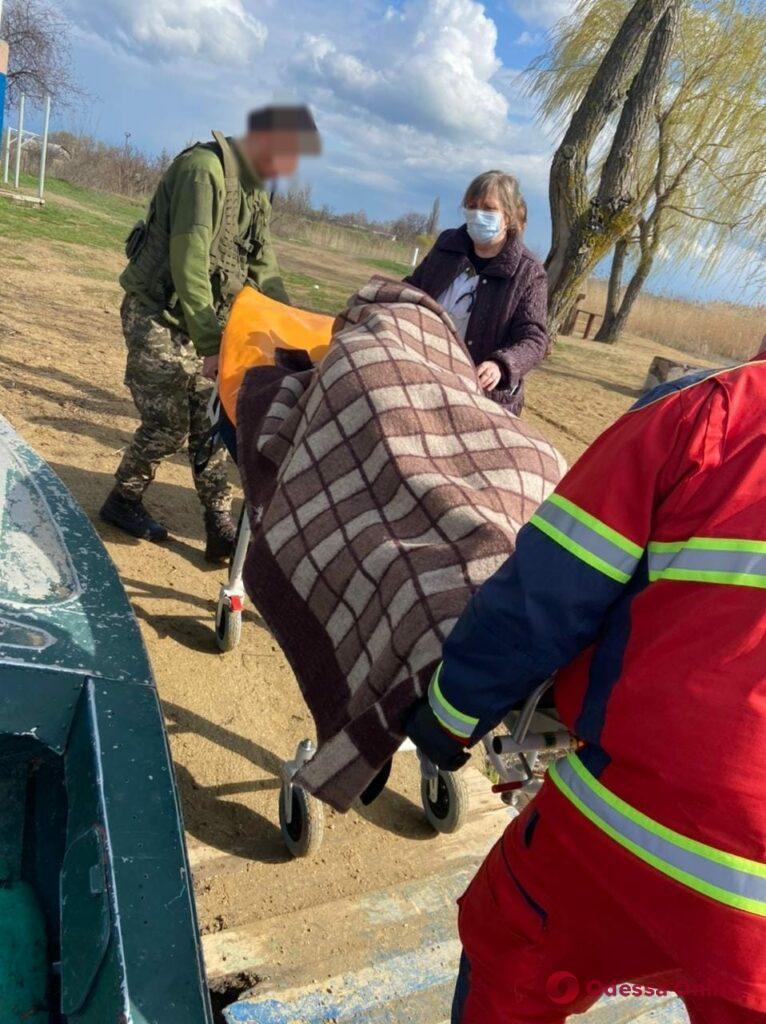 Пограничники спасли из Кучурганского лимана тонущего молдаванина